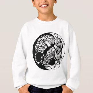 Tiger And Dragon Yin/Yang Sweatshirt