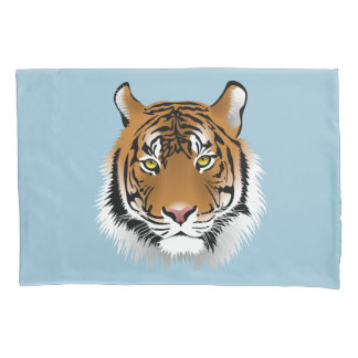 Tiger And Unicorn Pillowcase
