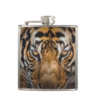 Tiger Animal Print Hip Flask