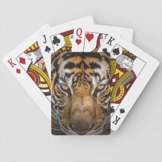 Tiger Animal Print Poker Deck