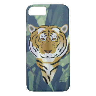 Tiger Apple iPhone 8/7, Barely There Phone Case