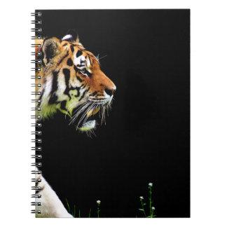 Tiger Approaching - Wild Animal Artwork Notebooks