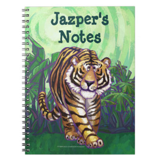 Tiger Art Personalized Notebook
