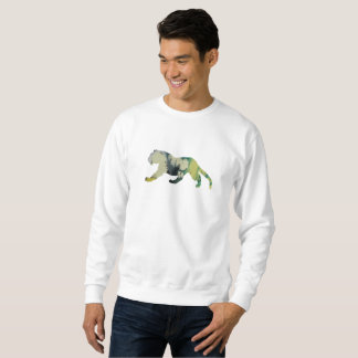 Tiger art sweatshirt