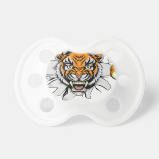 Tiger Attack Concept Pacifier