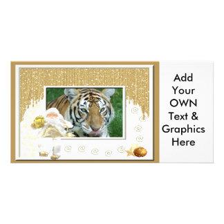 Tiger Auroara-c-165 copy Photo Card Template