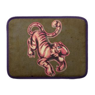Tiger Baby Painting Cartoon Salmon Brown MacBook Air Sleeve