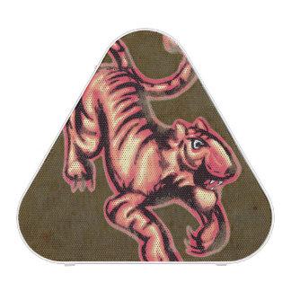 Tiger Baby Painting Cartoon Salmon Brown Speaker
