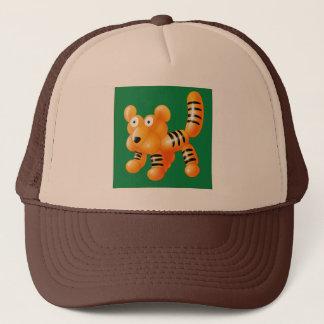 TIGER BALLOON TRUCKER HAT