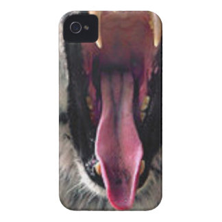 Tiger Bearing Teeth Case-Mate iPhone 4 Cases