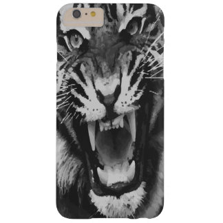 Tiger Black and White Barely There iPhone 6 Plus Case
