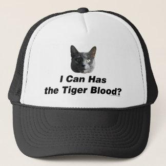 Tiger Blood Trucker Hat
