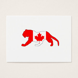 Tiger Canada Business Card