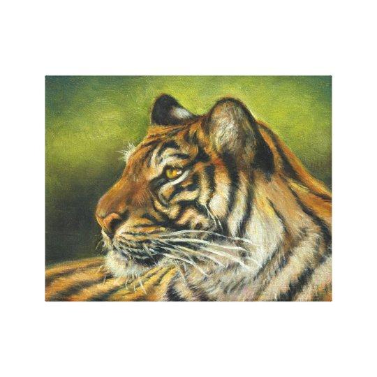 "Tiger Canvas Print 11"" x 14"""