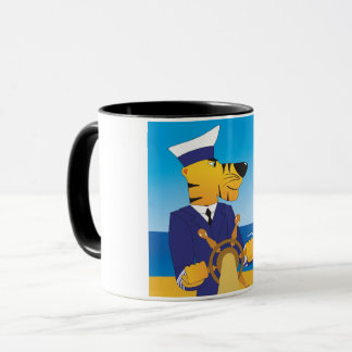 Tiger Captain Mug