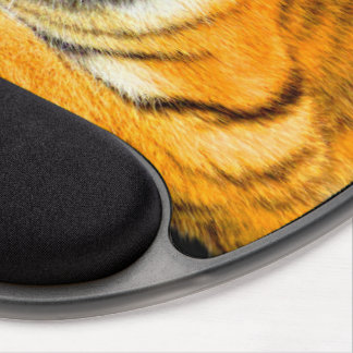 Tiger Cat Animal Feline Stripes Destiny Destiny's Gel Mouse Pad