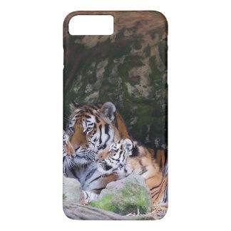 Tiger Cat print custom personalize Anniversaries iPhone 7 Plus Case
