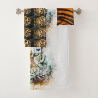 Tiger Cat Shower Bath Home Destiny'S Destiny Bath Towel Set