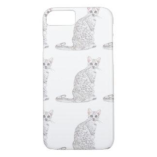Tiger Cat Watercolor iPhone 7 Case