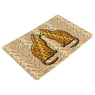 Tiger Cats Floor Mat