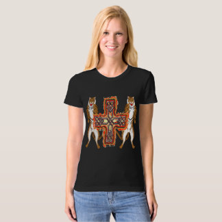 Tiger Celt Cross Ladies Organic T-Shirt