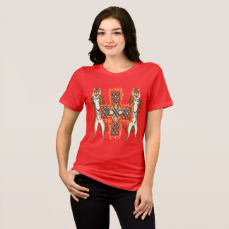Tiger Celt Cross Ladies Relaxed Fit T-Shirt