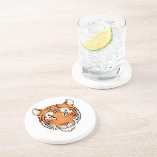 Tiger Coaster (Sandstone) - great for tiger fans!