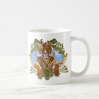 Tiger Crest Endangered Species Coffee Mug