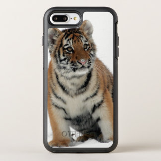 Tiger Cub in the Snow OtterBox Symmetry iPhone 8 Plus/7 Plus Case