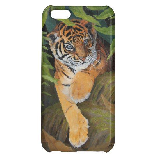 Tiger Cub iPhone Cases iPhone 5C Cover