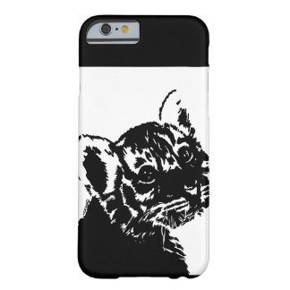 Tiger Cub Looking Back Barely There iPhone 6 Case
