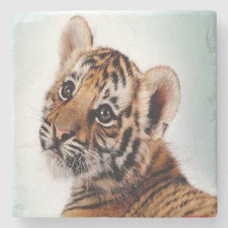 Tiger Cub Stone Coaster