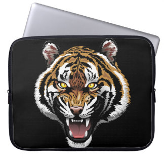 Tiger Design Zippered Laptop Bag Computer Sleeves