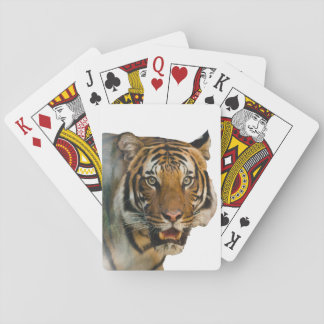 Tiger Double Exposure Playing Cards