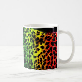 Tiger Drak Black Coffee Mug