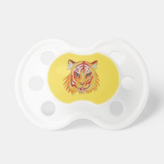 Tiger Drawing BooginHead® Pacifier
