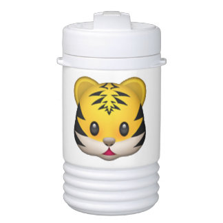 Tiger - Emoji Cooler