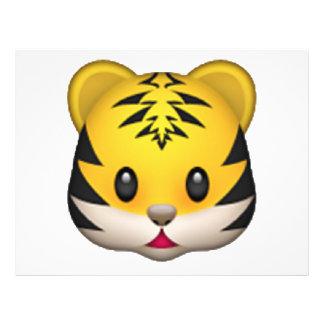 Tiger - Emoji Flyer