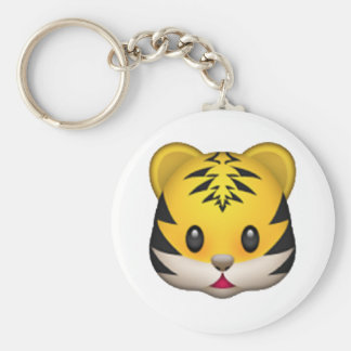 Tiger - Emoji Keychain