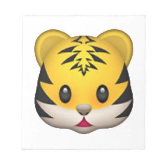 Tiger - Emoji Notepads