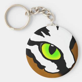 Tiger Eye Keychain
