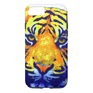 Tiger Eyes Pop Art iPhone 7 Case