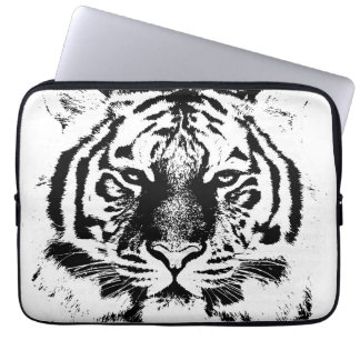 Tiger Face Close-Up 2 Laptop Sleeve