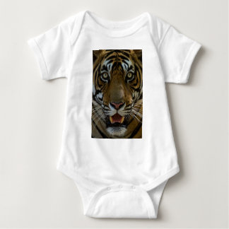 Tiger Face Close Up Baby Bodysuit