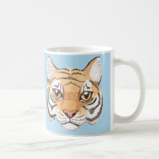 Tiger Face Coffee Mug