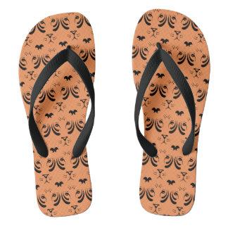 Tiger Face Flip Flops