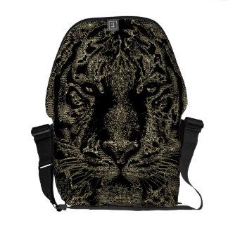 Tiger Fine Art 3 - Messenger Bag