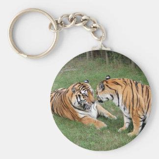 Tiger Friends-008 Keychain