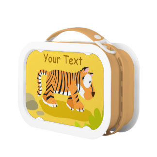 Tiger from World animal series Lunchbox