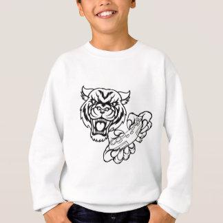 Tiger Gamer Mascot Sweatshirt